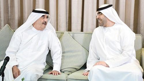 سعود المعلا في حديث مع أحمد بن سعود المعلا