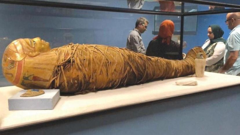 وصول المومياوات الملكية إلى مكانها الجديد بمتحف الحضارة المصرية